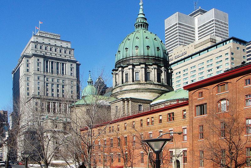 Centre ville de Montréal, Québec © Wikimedia commons / Atilin