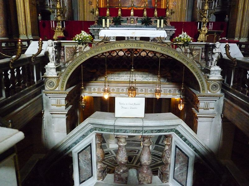 Basilique des XII apôtres, Rome, Wikimedia commons, F. Czarnowski