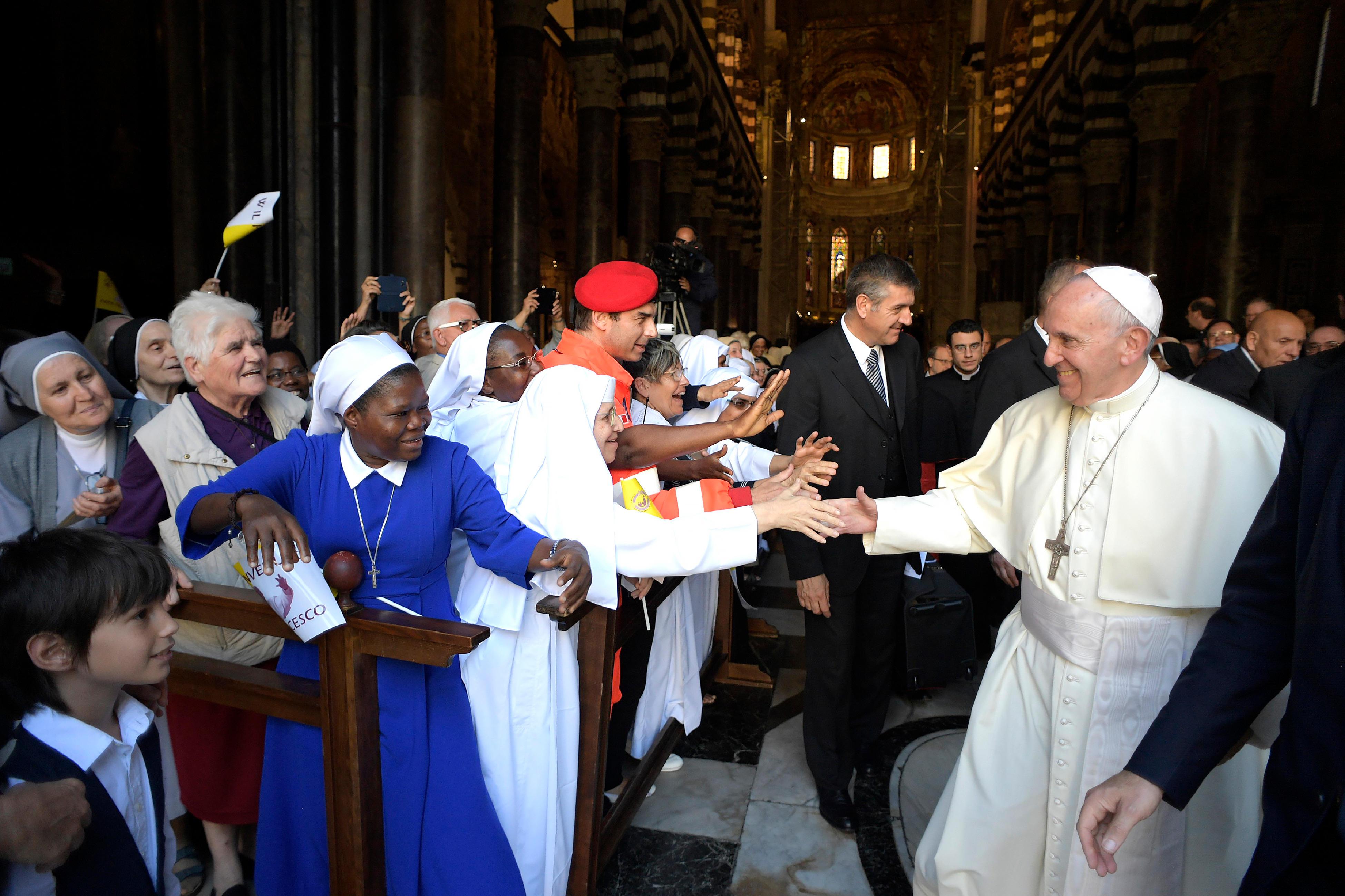 Clergé et vie consacrée, Gênes 27 Mai 2017 © L'Osservatore Romano