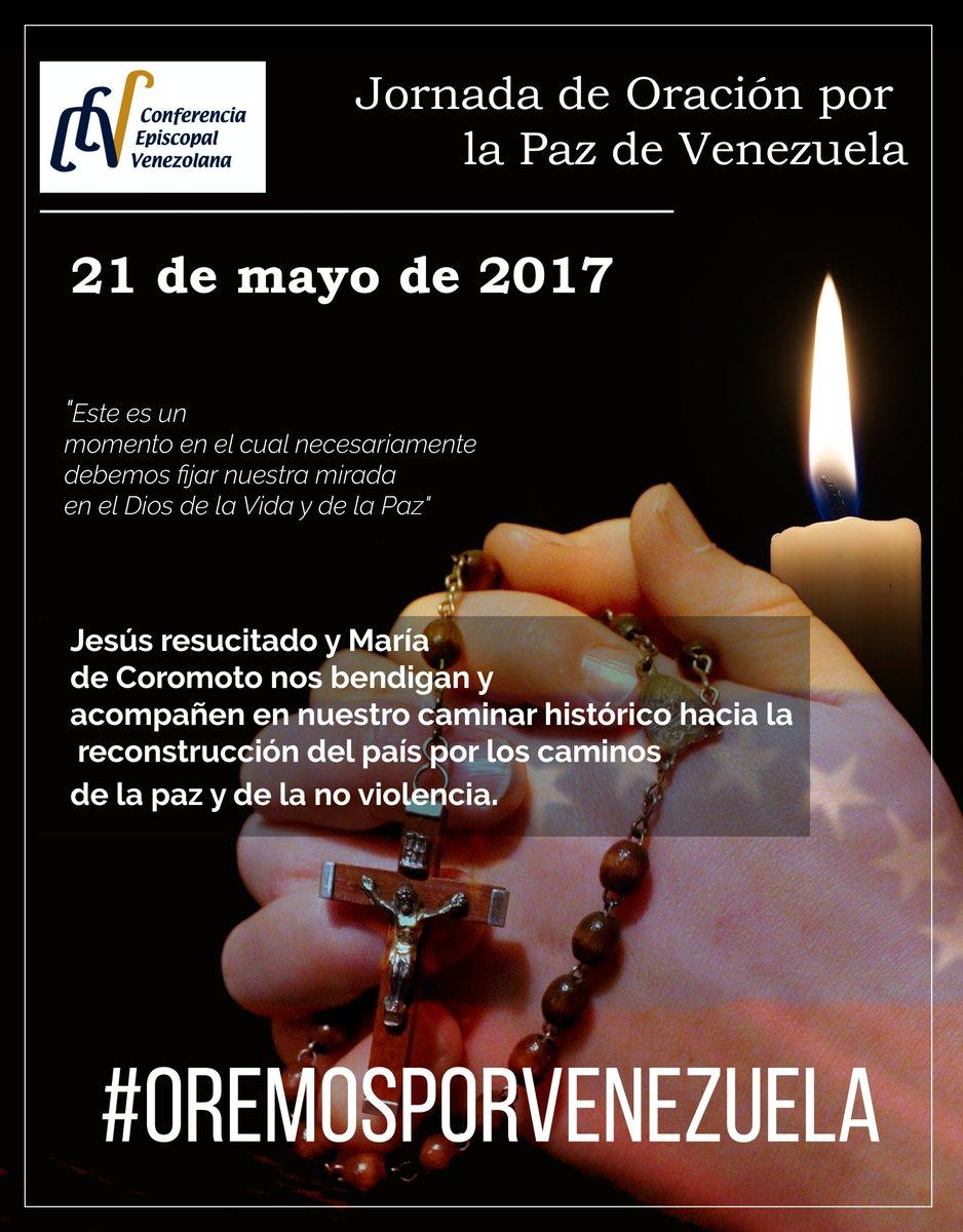 Journée de prière pour le Venezuela