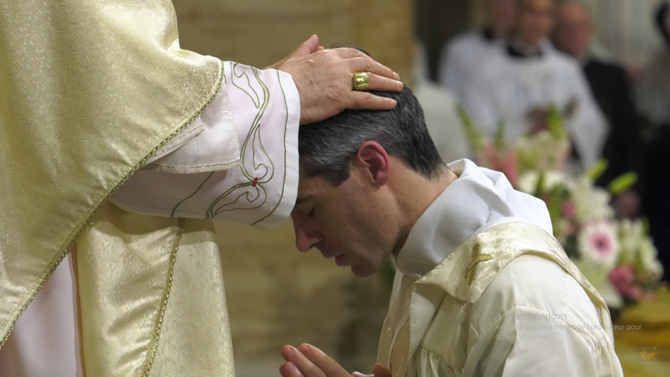 Ordinations, 29 avril 2017, capture Opus Dei