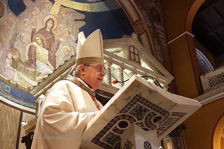 Messe présidée par le card. Sandri © HSM - ZENIT