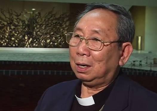 Mgr Ling Mangkhanekhoun, capture TV Sel et Lumière
