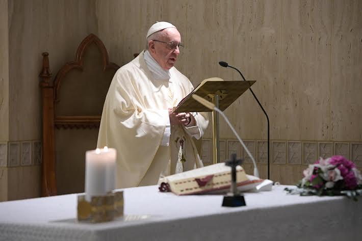 Sainte Marthe 9 mai 2017 © L'Osservatore Romano