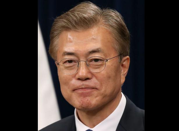 Président coréen Moon Jae-in © Wikimedia commons / Korea.net