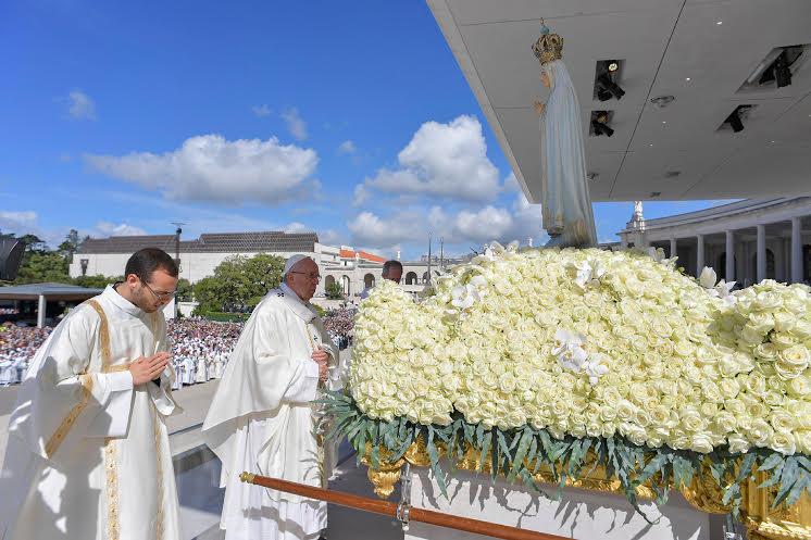 Messe du centenaire des apparitions de Fatima © L'Osservatore Romano