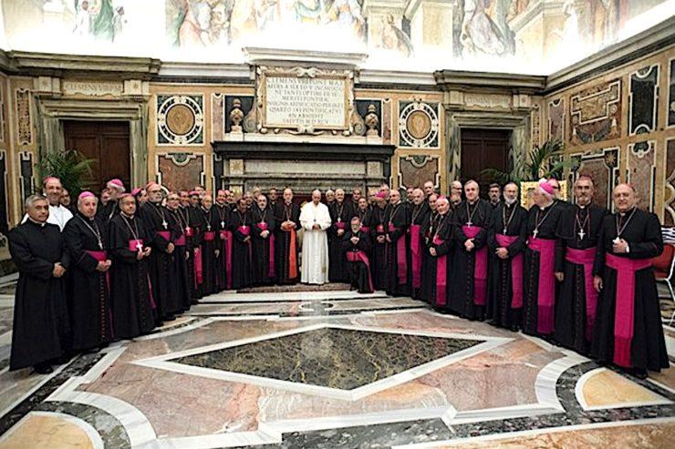 Ad limina des évêques du Pérou © L'Osservatore Romano