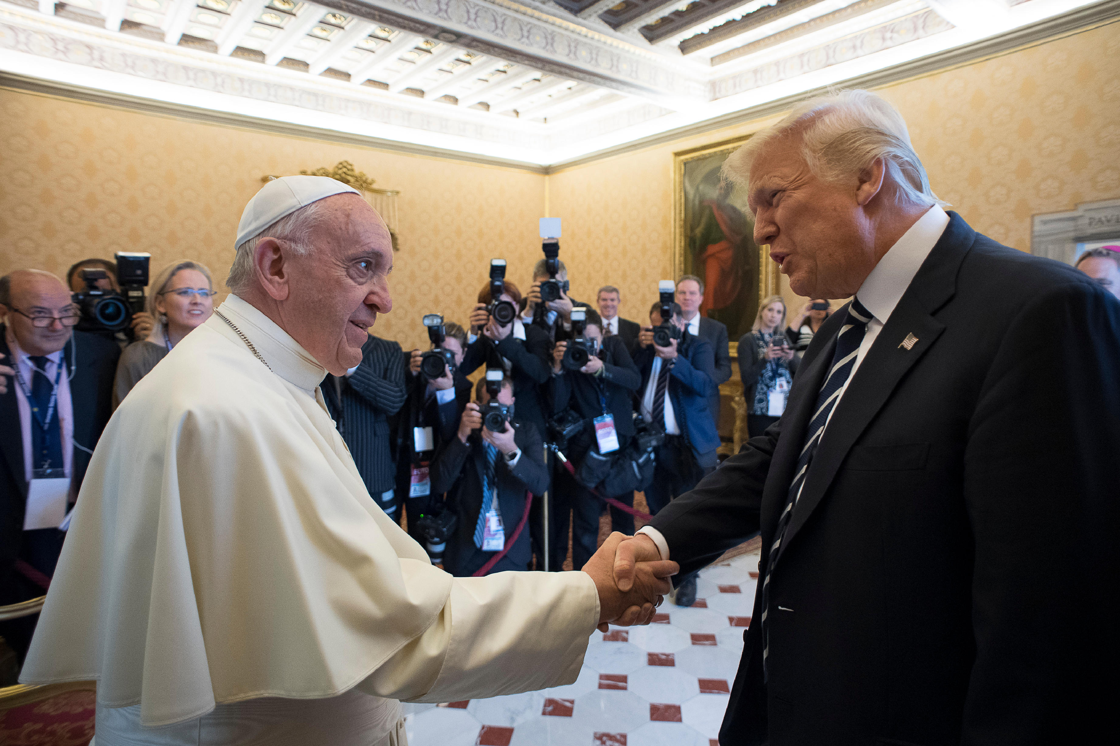 Visite du président Trump au Vatican © L'Osservatore Romano