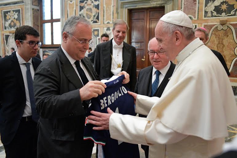 La Juventus et la Lazio chez le pape © L'Osservatore Romano