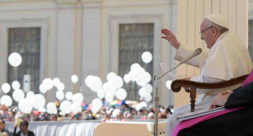Audience du 17 mai 2017 © L'Osservatore Romano