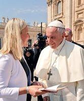 Mme Catherine McKenna© L'Osservatore Romano