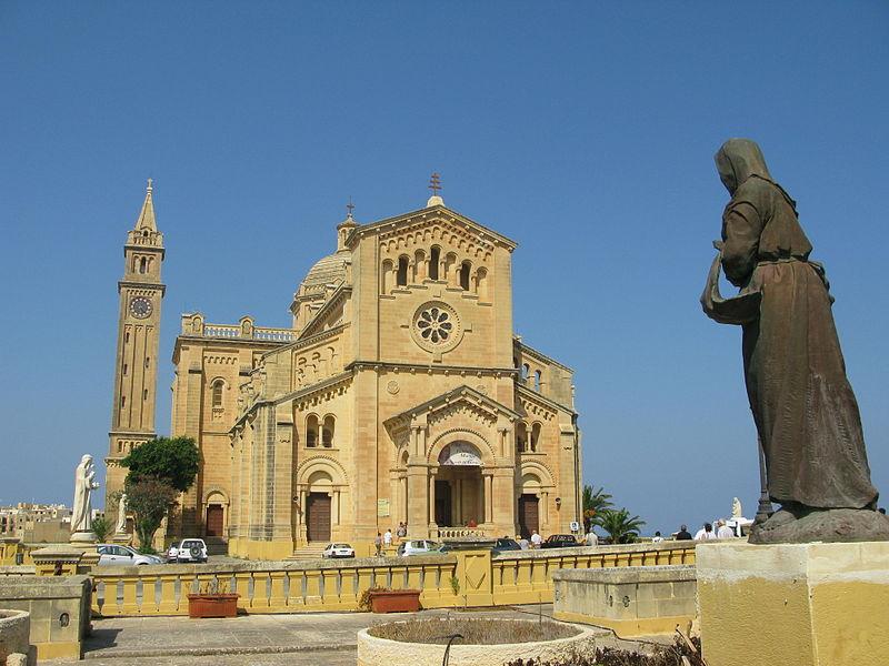 Sanctuaire marial de Ta'Pinu (Gozo), wikimedia commons, Lasponge