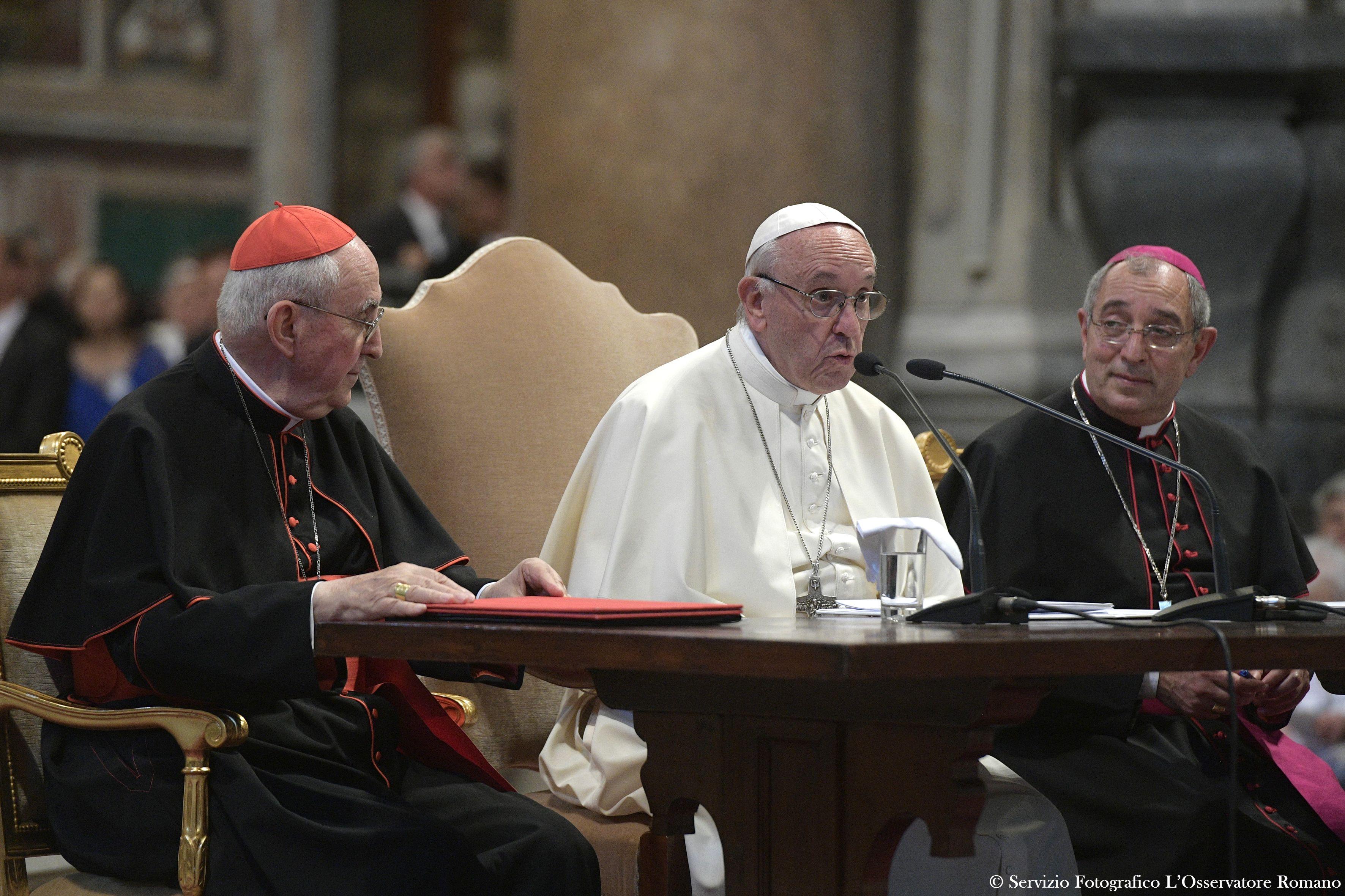 Congrès du Latran 19/06/2017 © L'Osservatore Romano