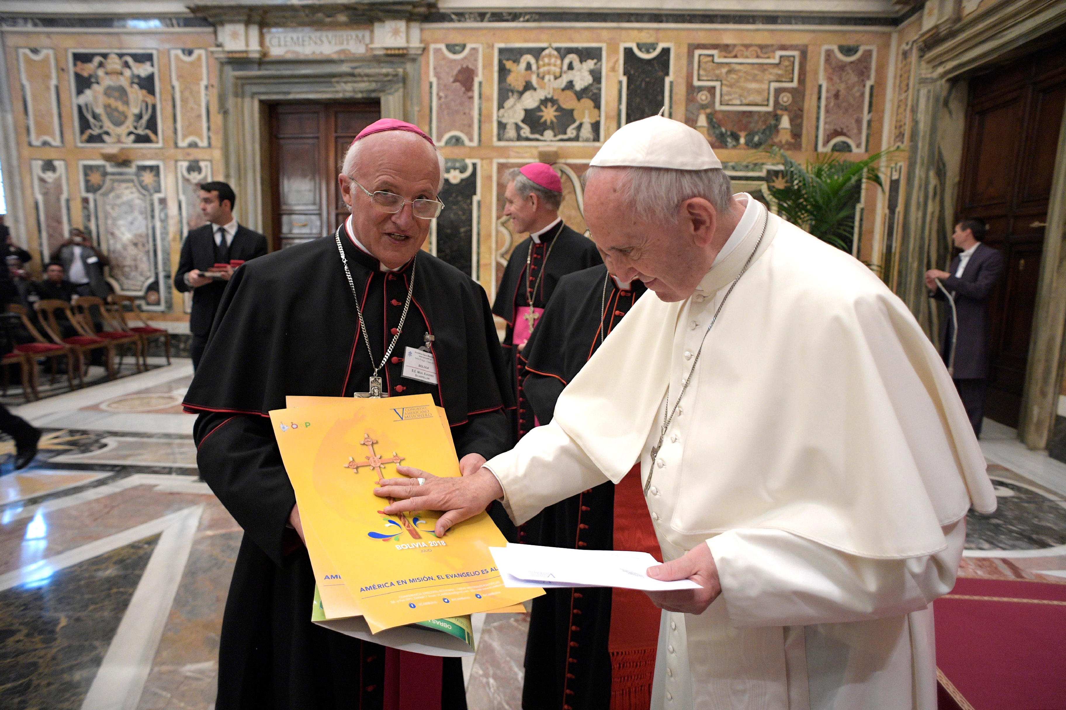 Oeuvres pontificales missionnaires © L'Osservatore Romano