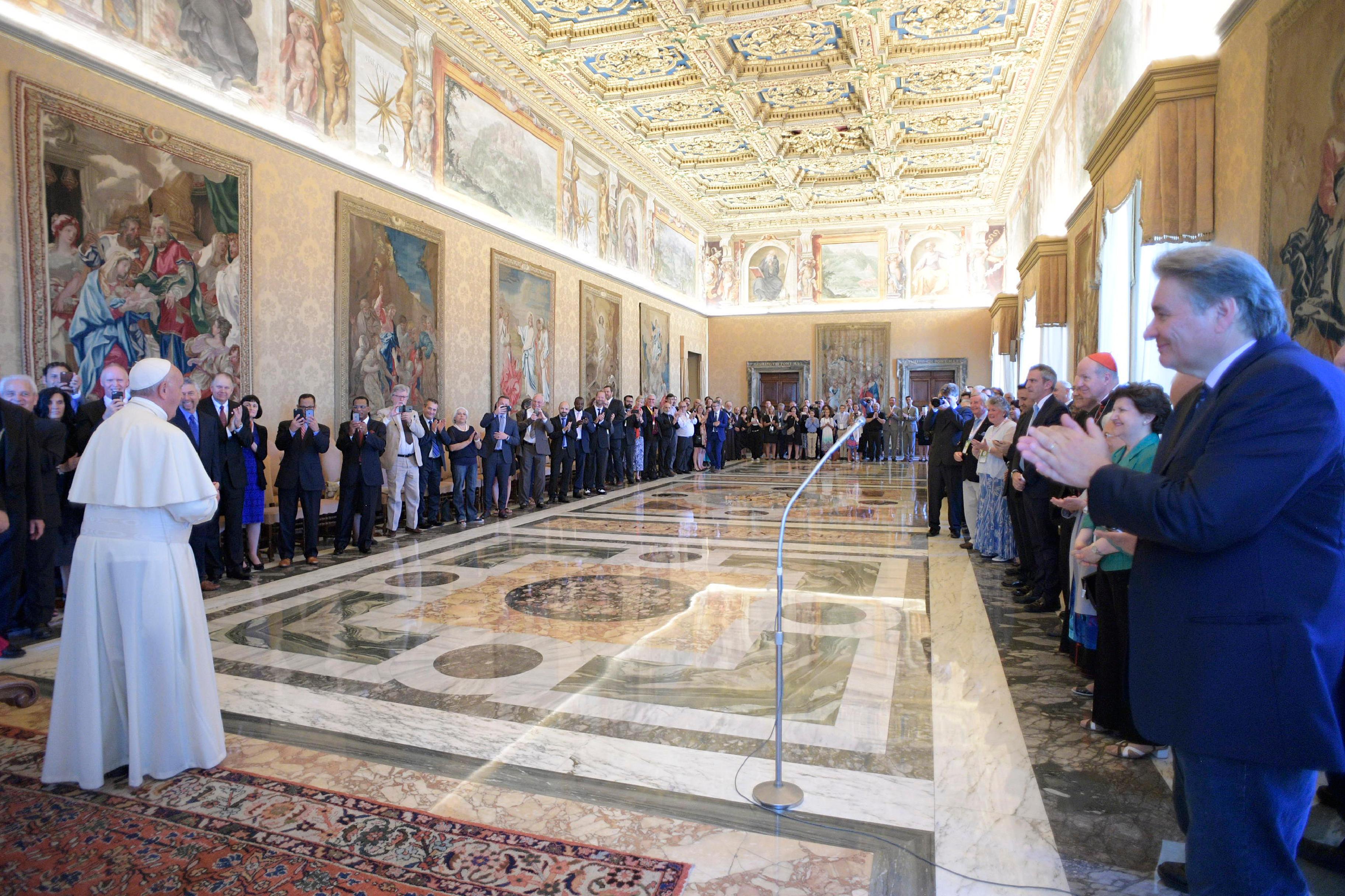 Délégation évangélique © L'Osservatore Romano