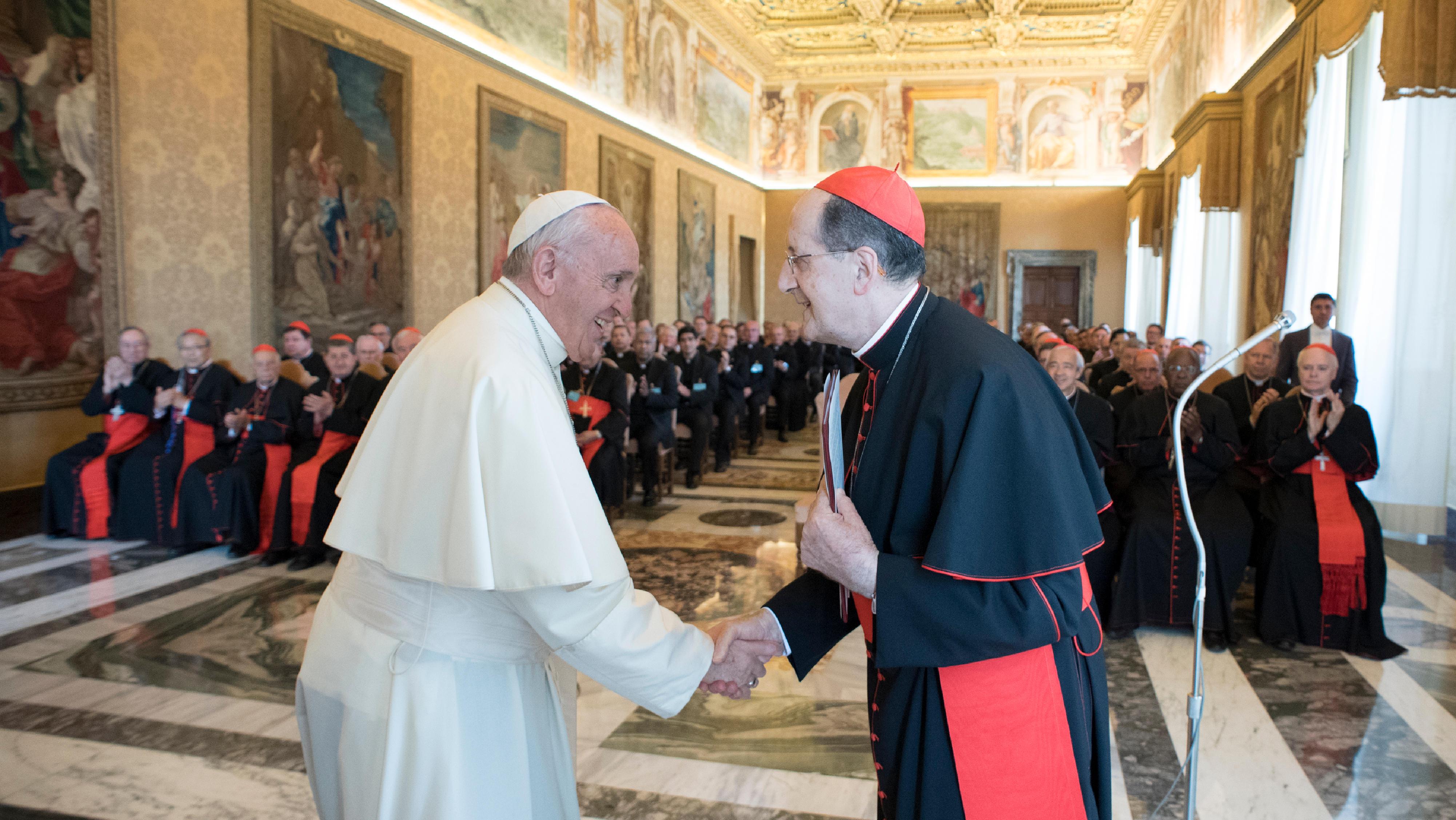Congrégation pour le clergé 01/06/2017 © L'Osservatore Romano