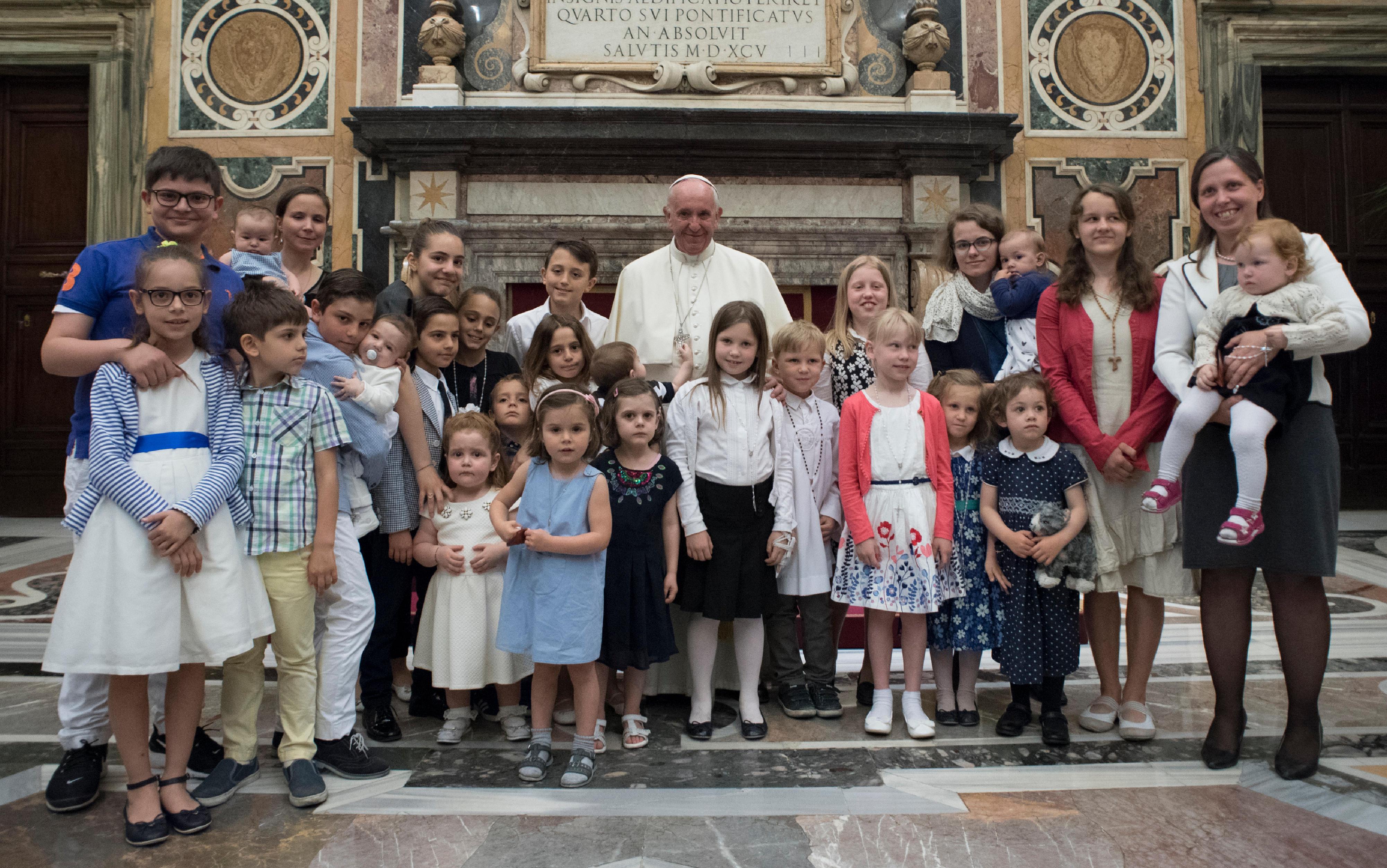 Fédération des Associations Familiales Catholiques en Europe © L'Osservatore Romano