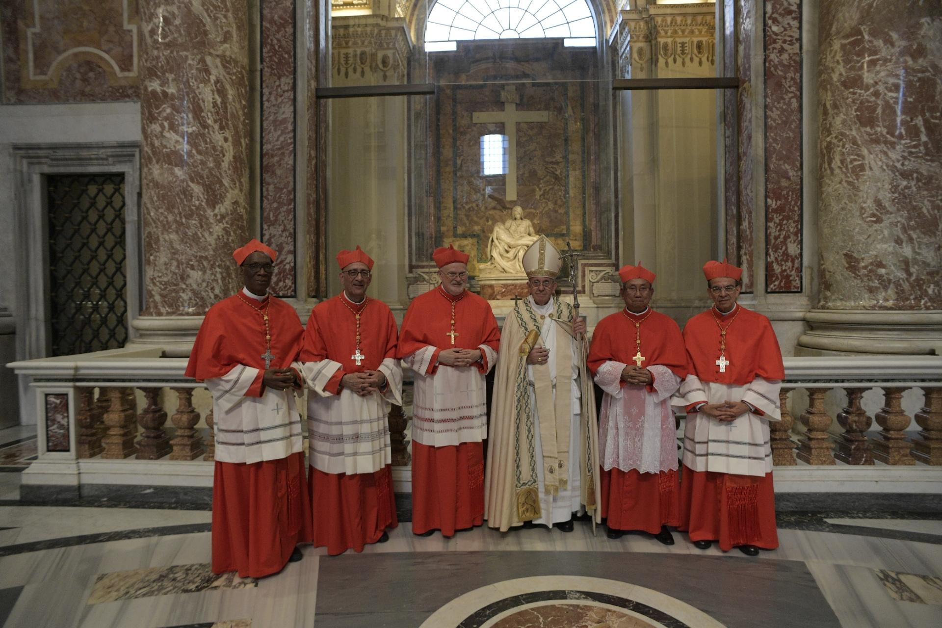 Nouveaux cardinaux, consistoire du 28 juin 2017 © L'Osservatore Romano