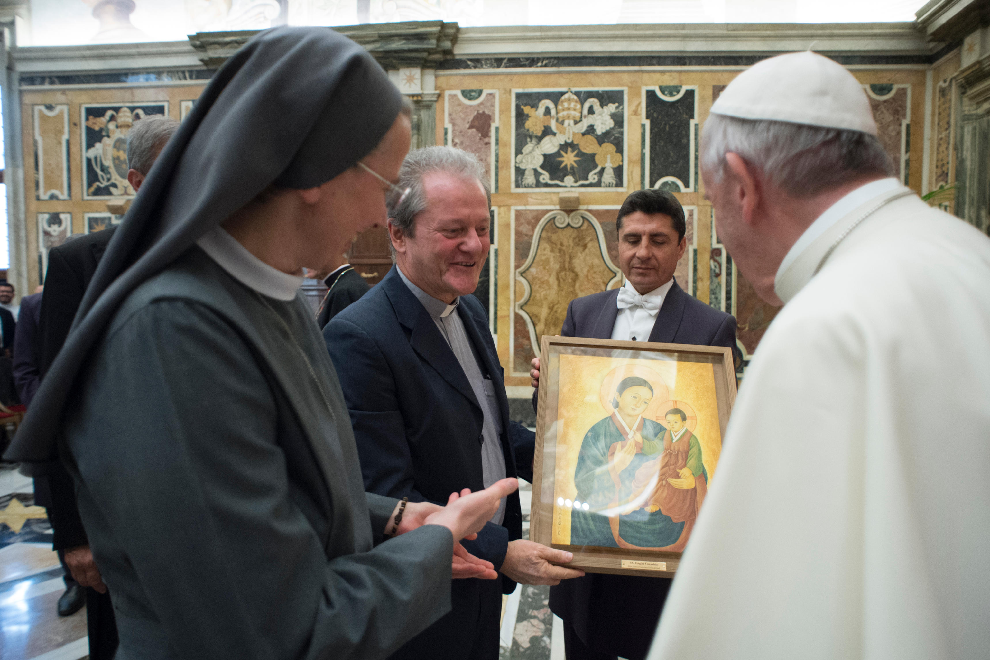 Misisonnaires de la Consolata 5 juin 2017 © L'Osservatore Romano