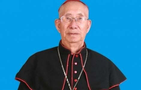 Mgr Liu Shigong, évêque de Jining, Chine © Fides