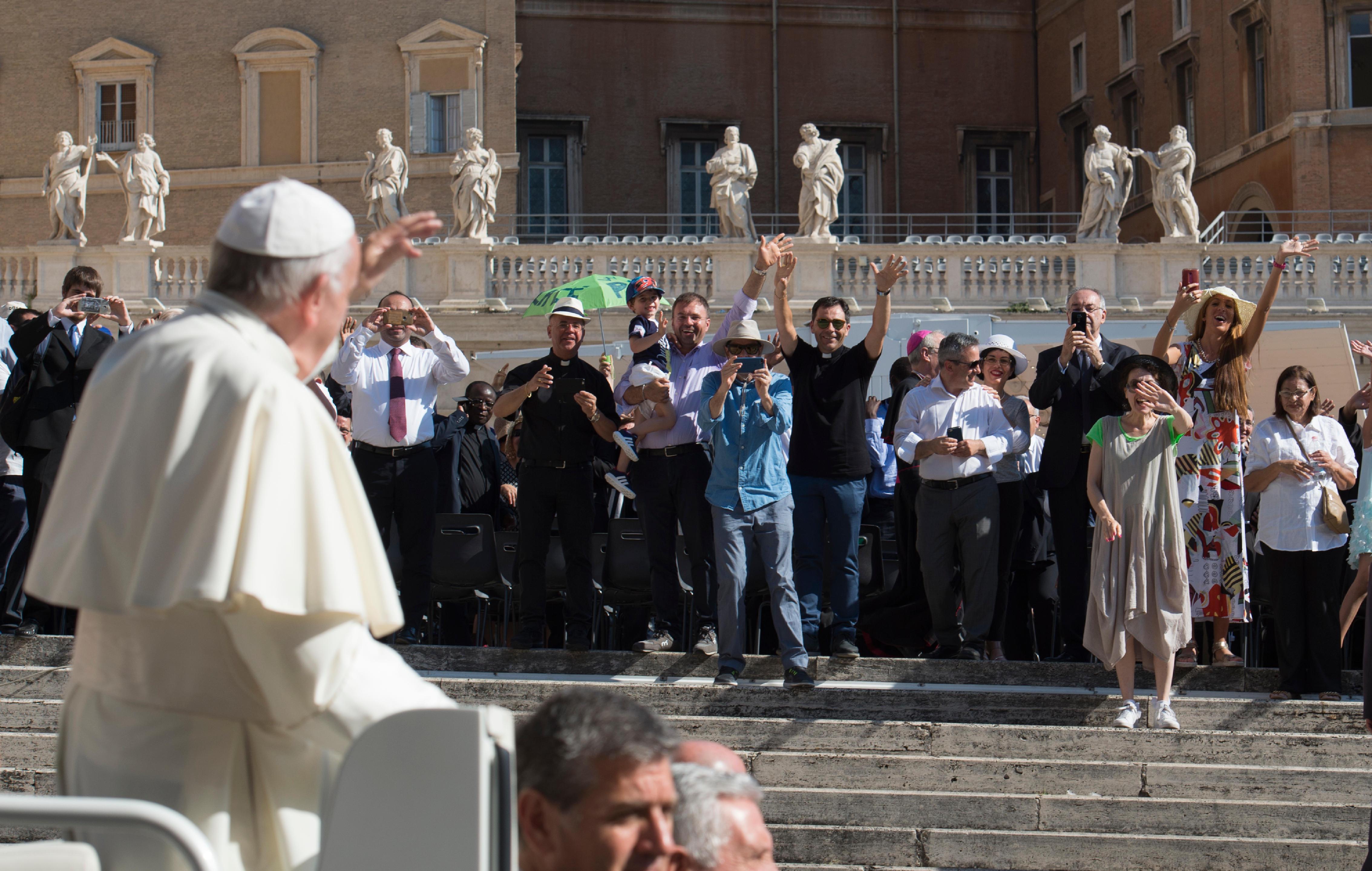 Audience générale du 21 juin 2017 © L'Osservatore Romano