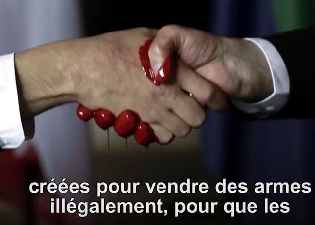 Le sang des armes © Réseau mondial de prière du pape