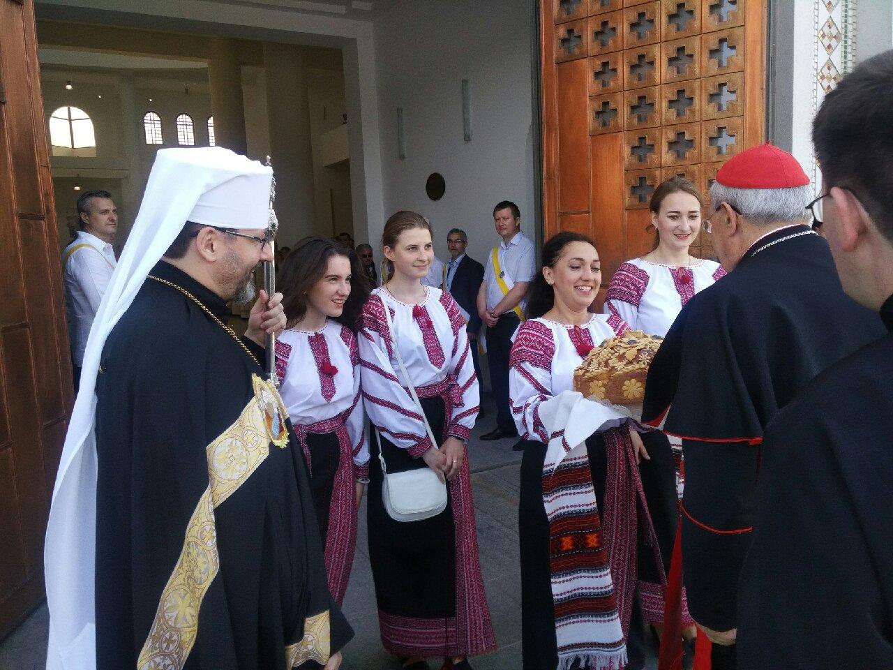 Le card. Sandri en Ukraine © Congrégation pour les Eglises orientales
