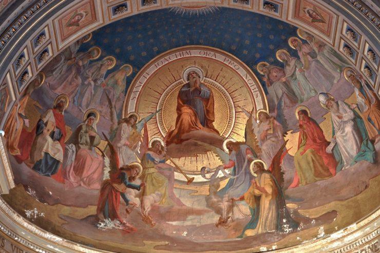 Apside de l'église San Gioacchino (Foto ZENIT Cc)
