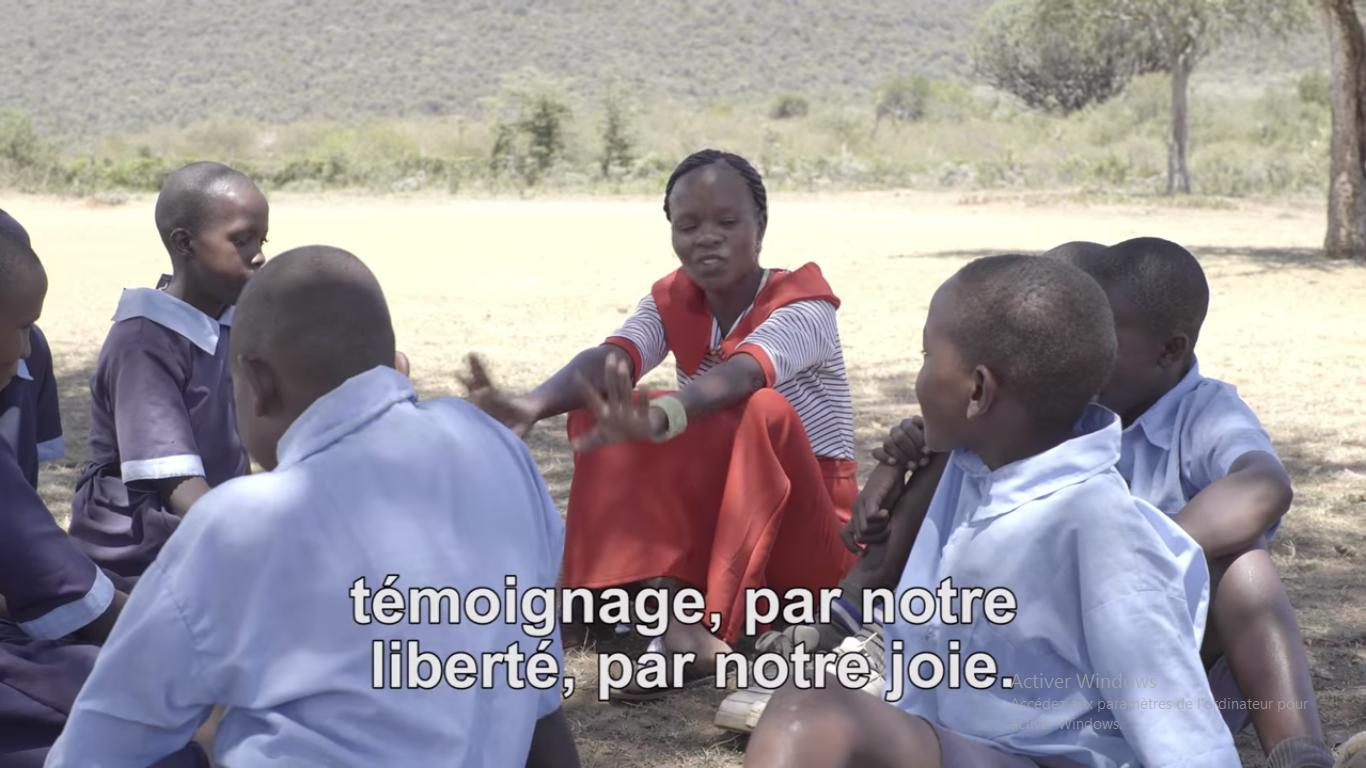 La Vidéo du Pape juillet 2017, capture