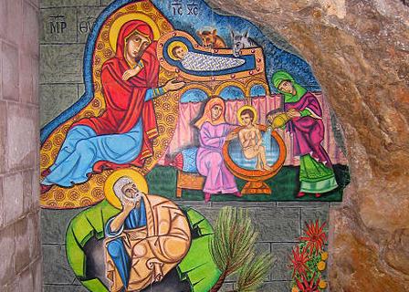 Ste Anne et St Joachim © Wikimedia Commons / Talmoryair