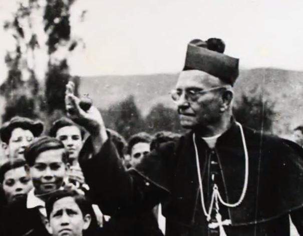 Mgr Ismael Perdomo, Colombie, capture archevêché de Bogota