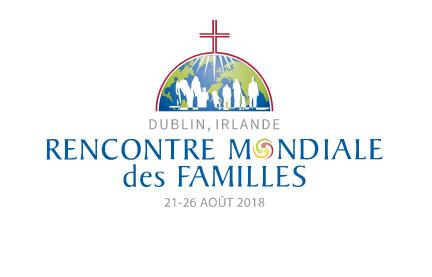 Logo de la Rencontre Mondiale des familles Dublin 2018