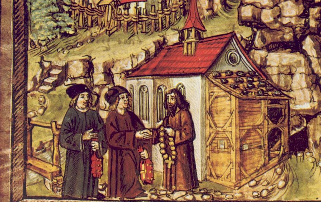 Saint Nicolas de Flüe © Wikimedia Commons / Diebold Schilling