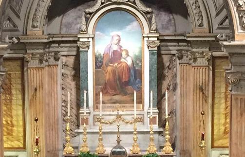 Paroisse Sainte-Anne au Vatican © pontificiaparrocchiasantanna.it
