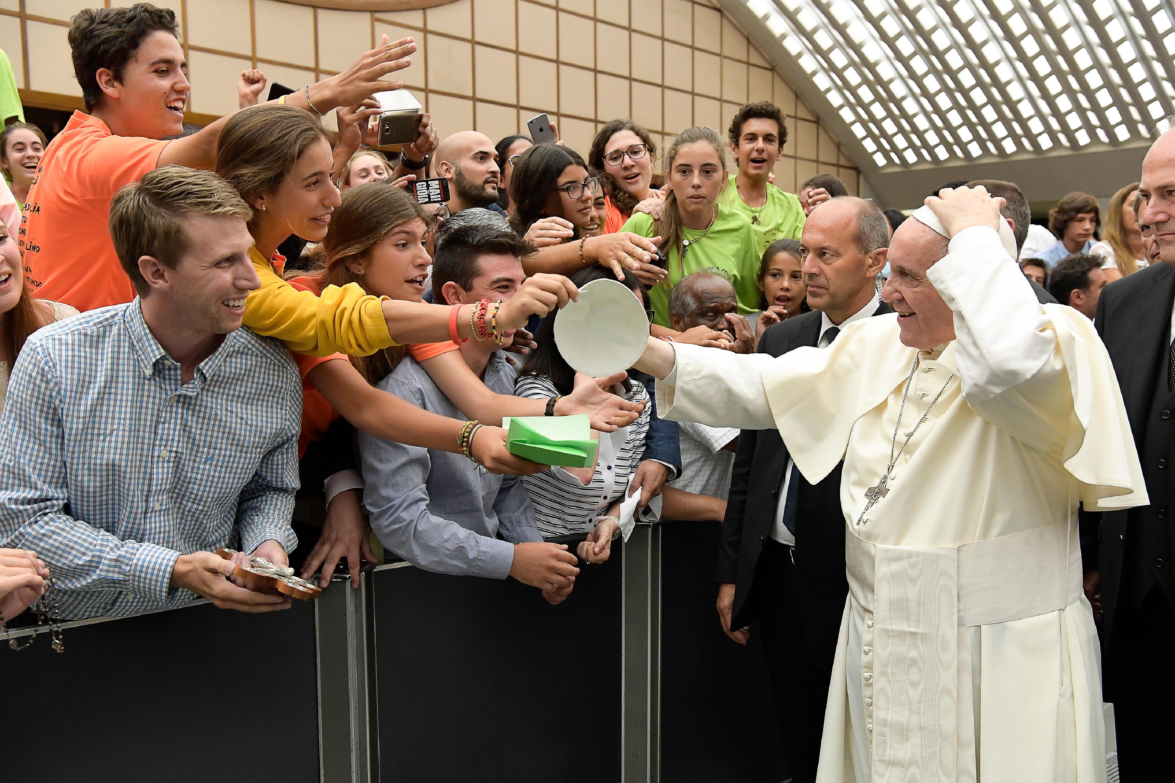 Audience 2 août 2017 © L'Osservatore Romano