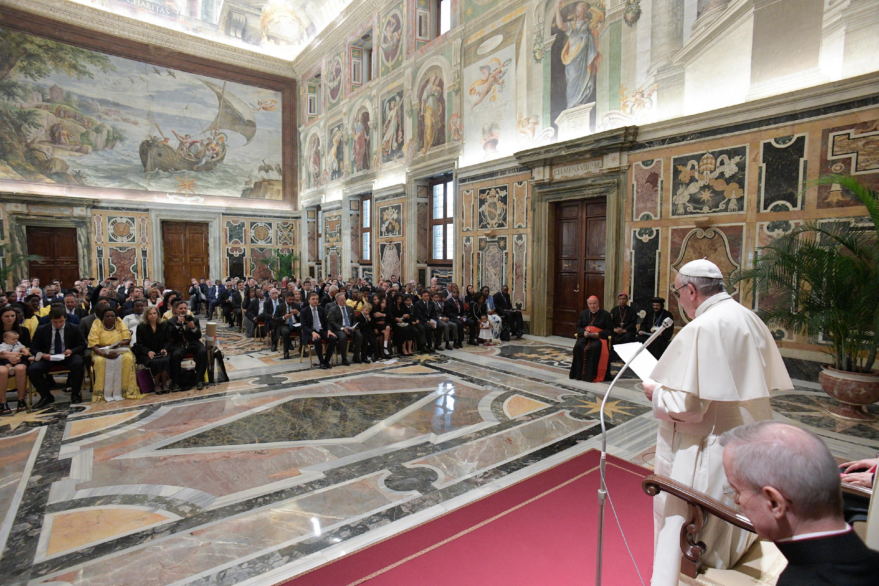 Réseau international des législateurs catholiques, 27/08/2017 © L'Osservatore Romano