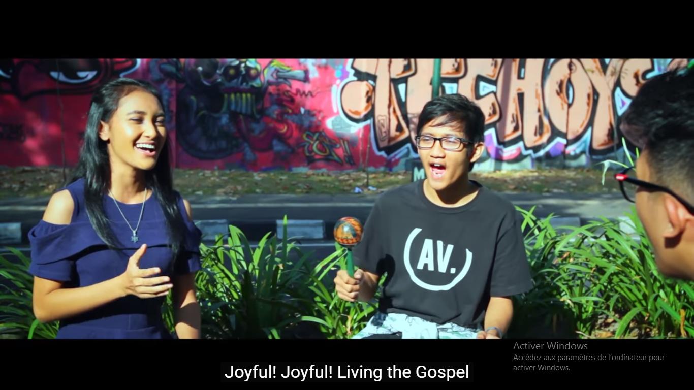 Vidéo clip de la journée de la jeunesse asiatique, capture