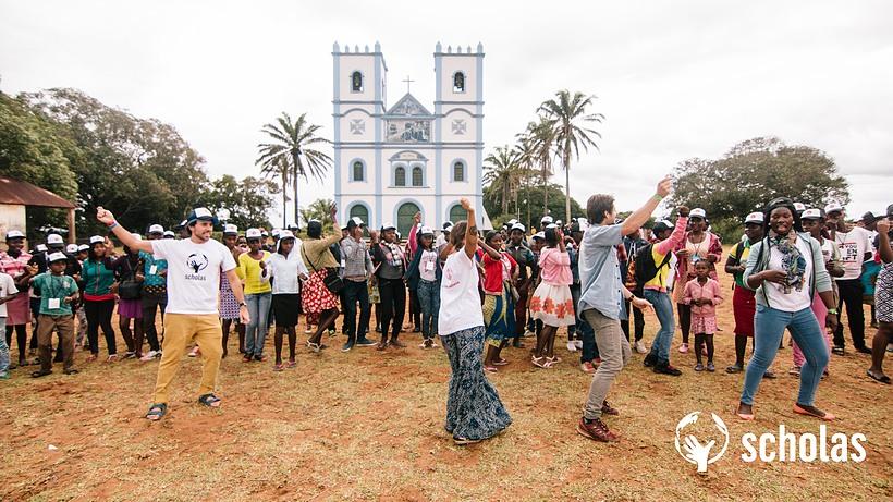 © Scholas Occurrentes au Mozambique