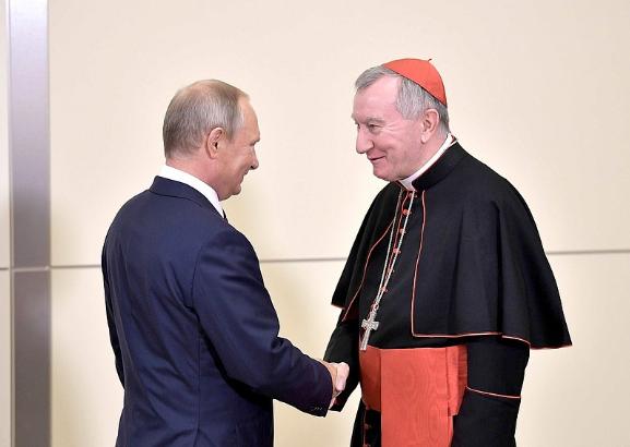 Le président Poutine reçoit le card. Parolin, Russie © kremlin.ru
