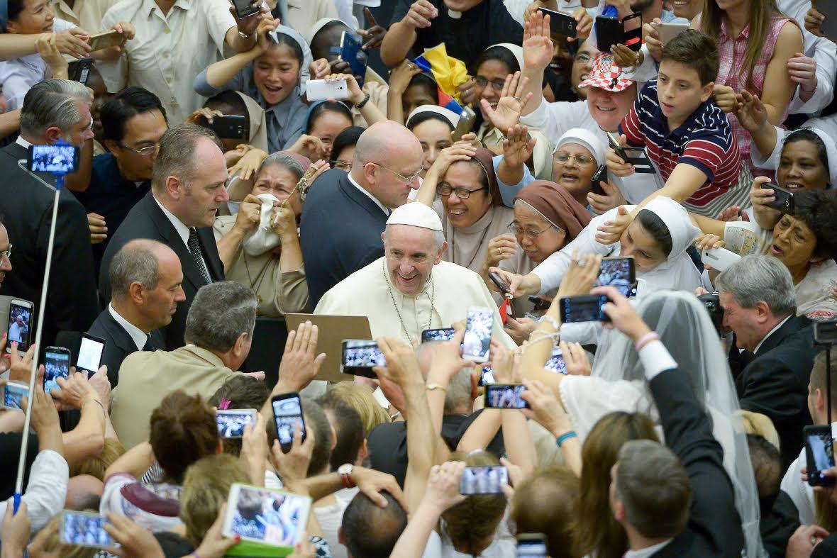 Audience du 9 août 2017 © L'Osservatore Romano