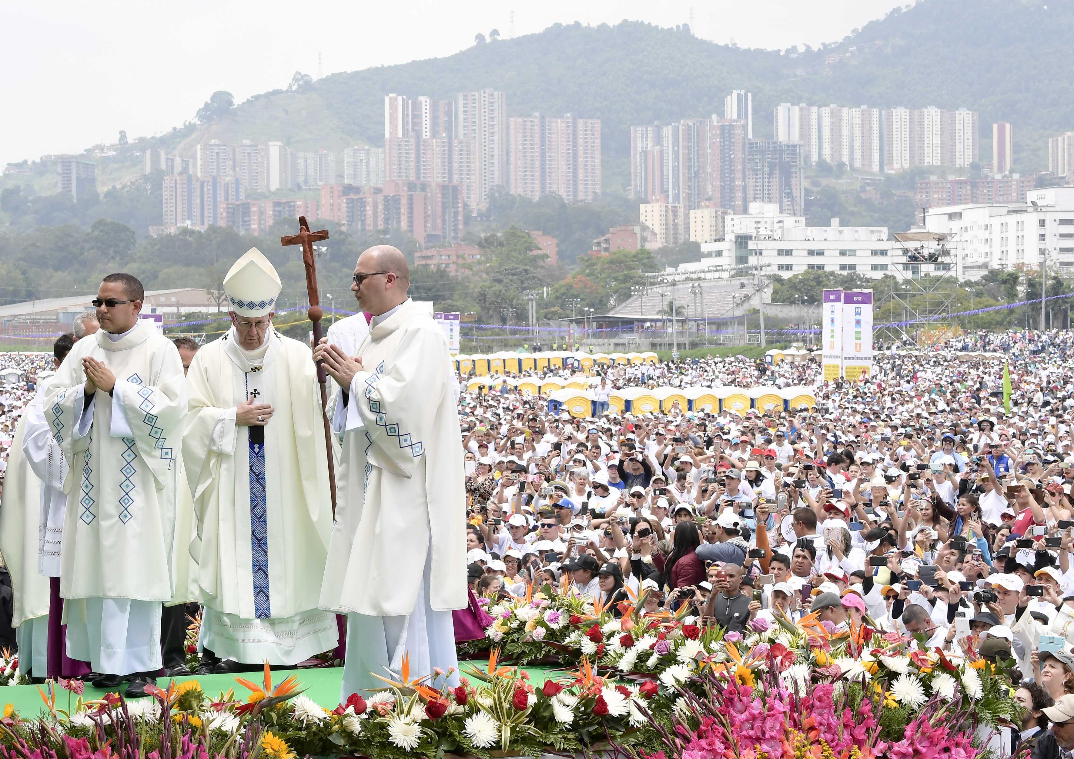Messe à Medellin, Colombie © L'Osservatore Romano