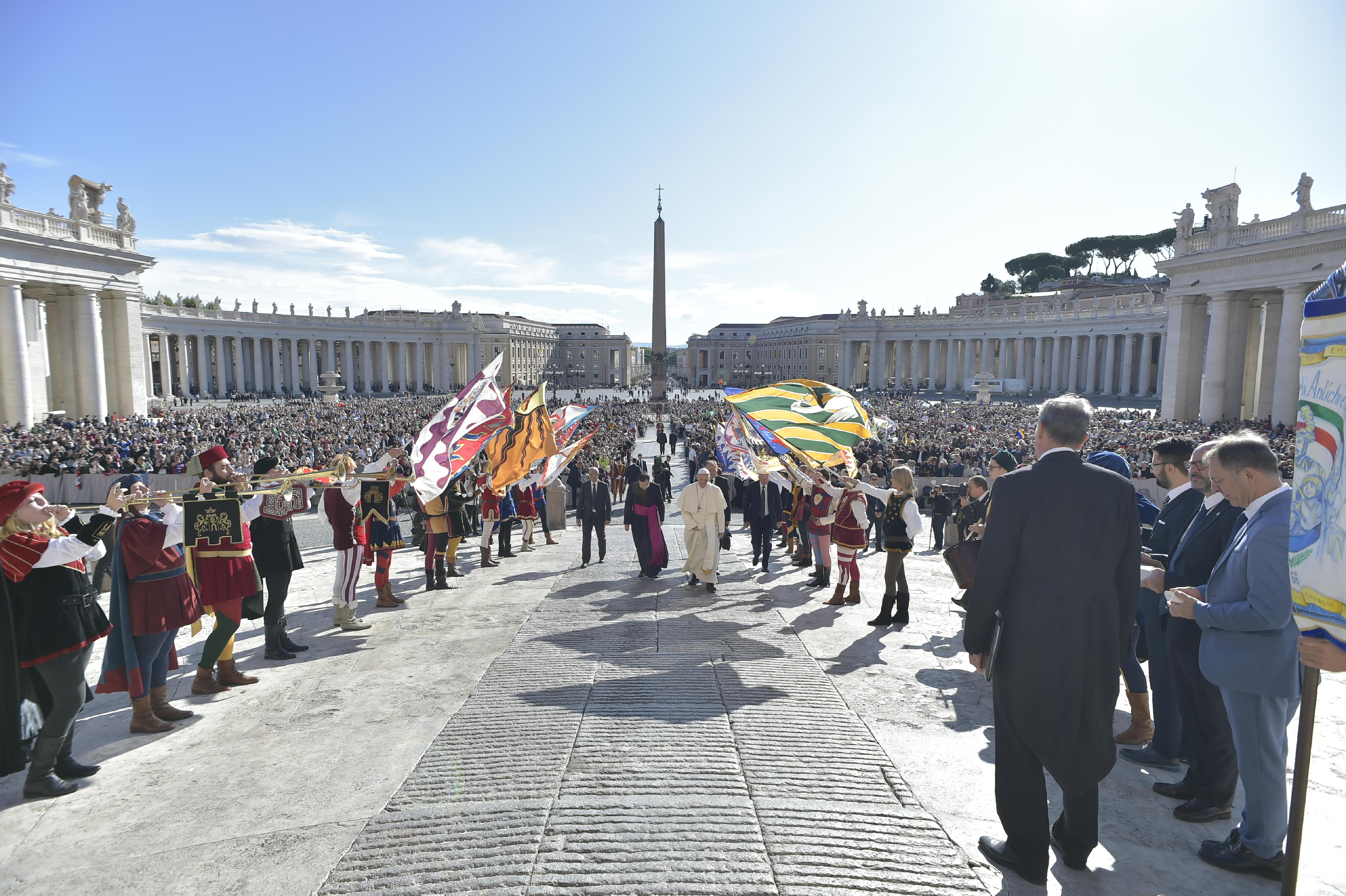 Audience générale du 20/09/2017 © L'Osservatore Romano