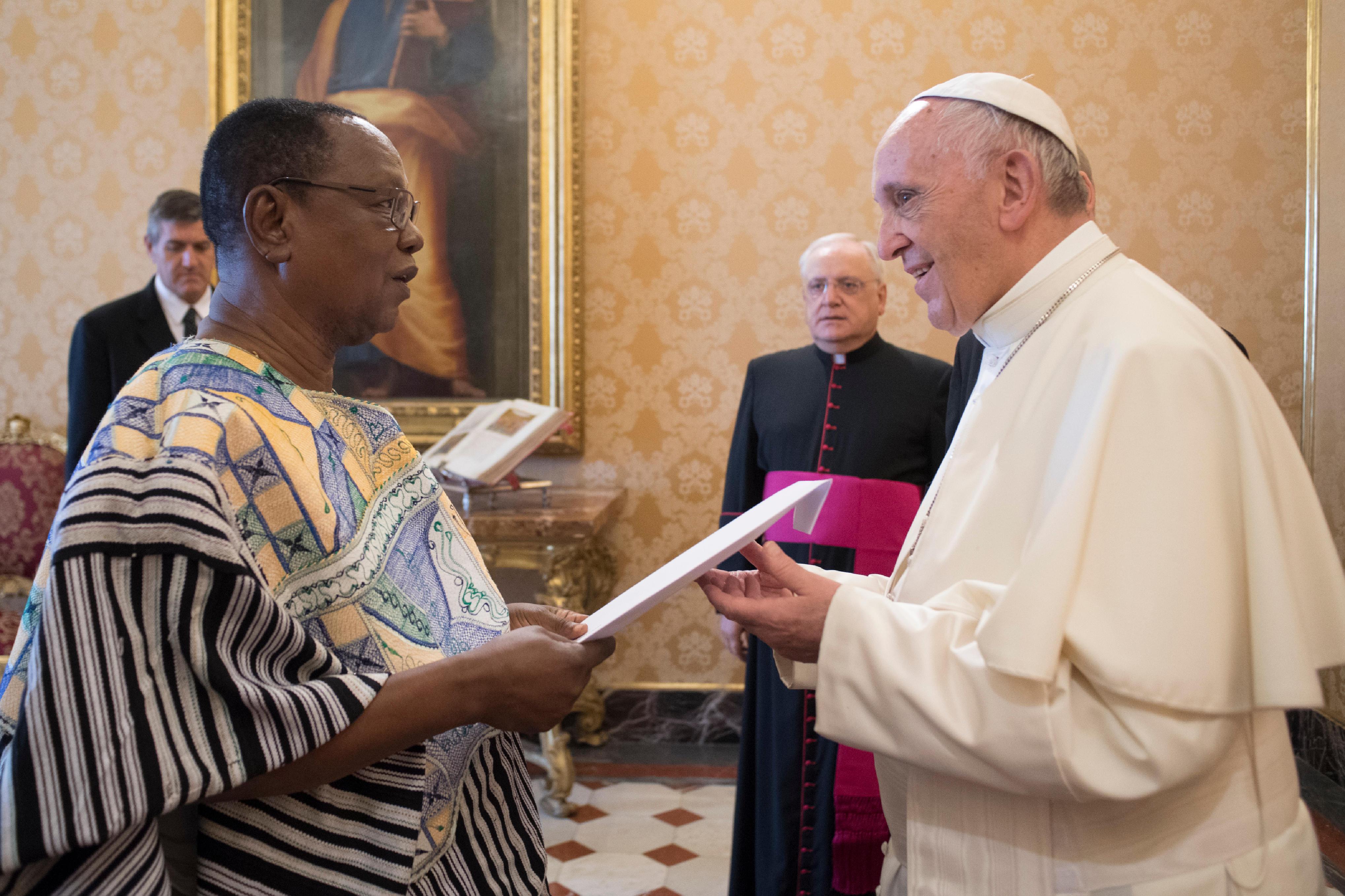 Ambassadeur du Ghana ©, L'Osservatore Romano