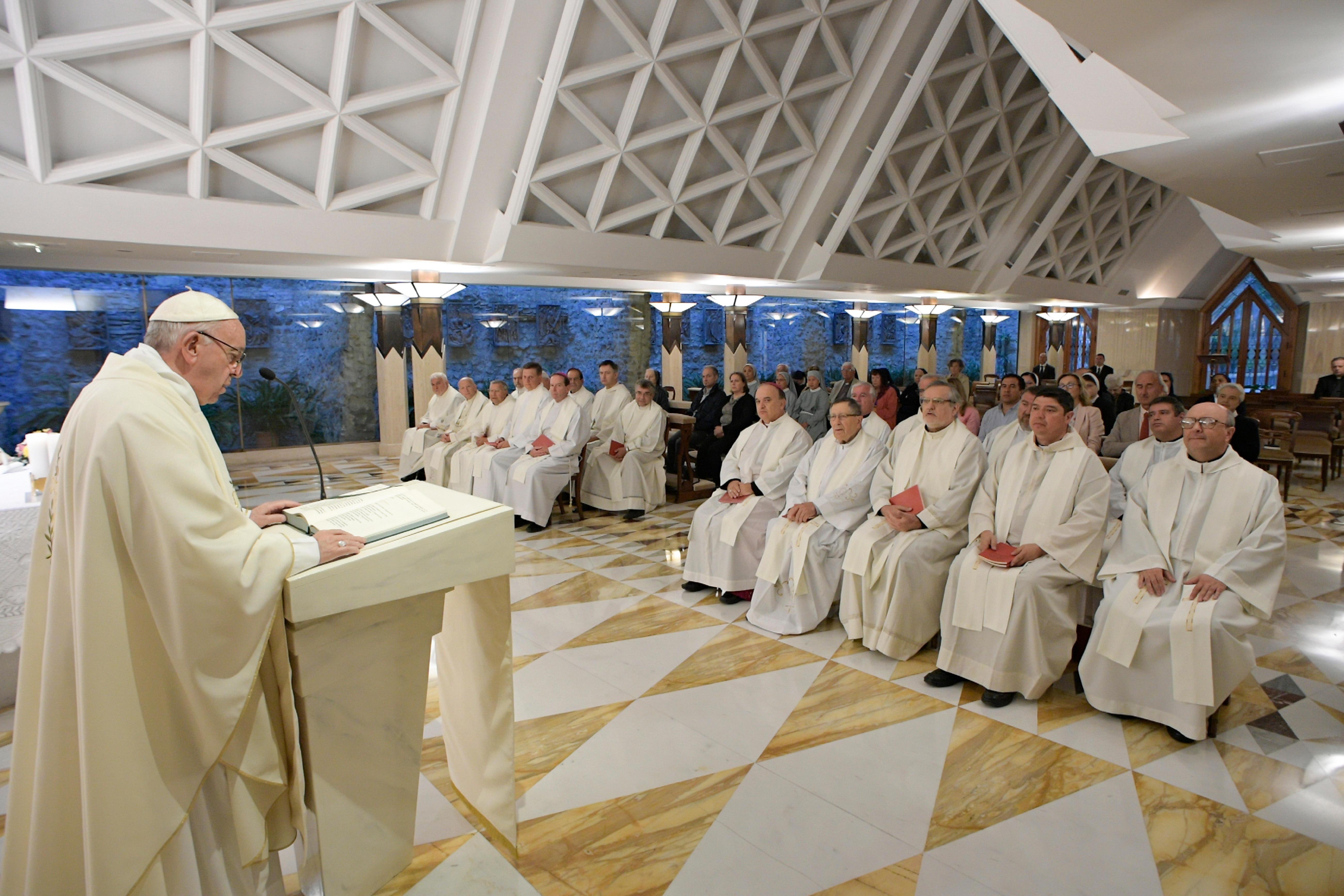Messe du 25/09/2017 à Sainte-Marthe © L'Osservatore Romano