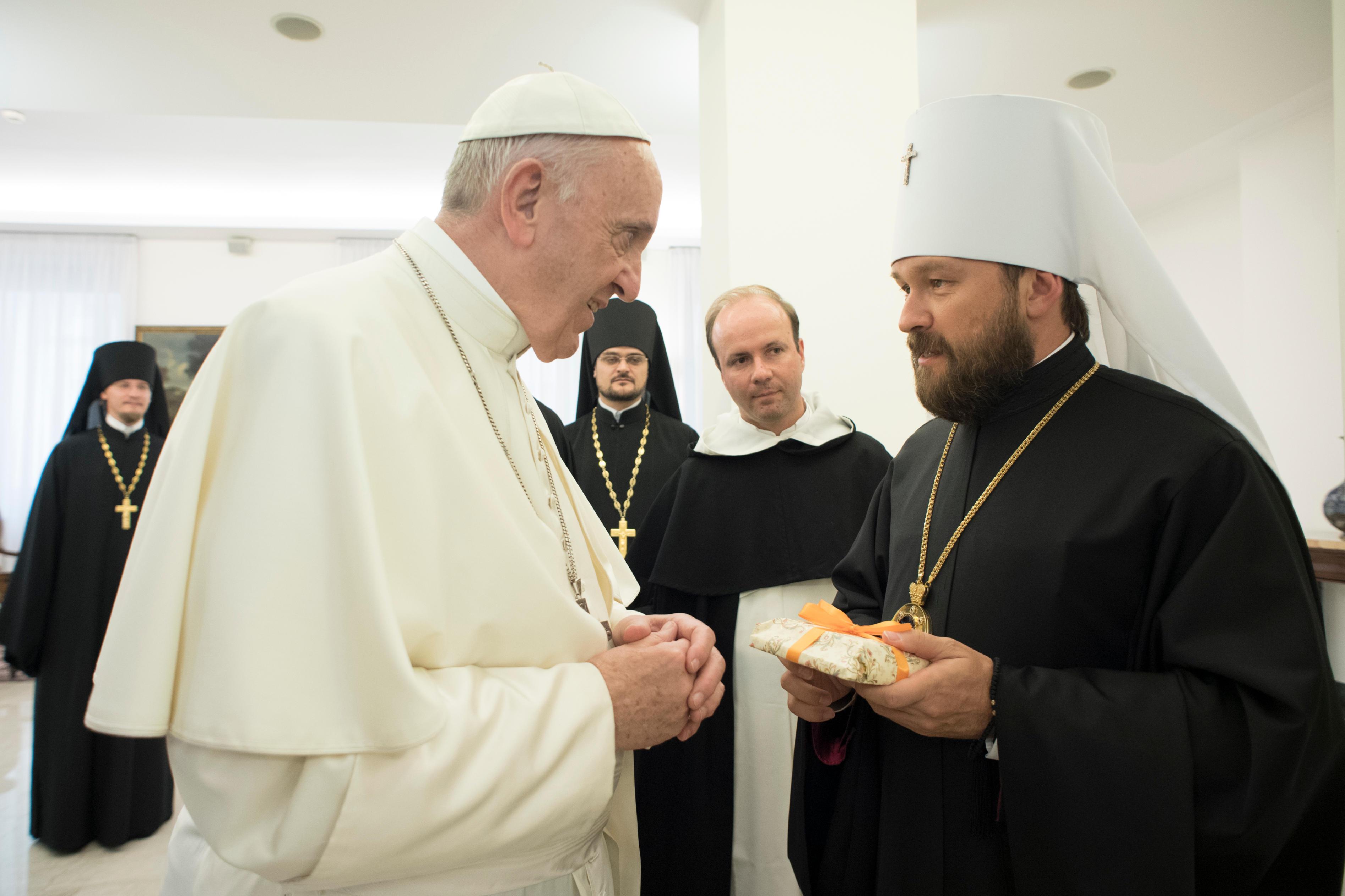 Métropolite Hilarion © L'Osservatore Romano