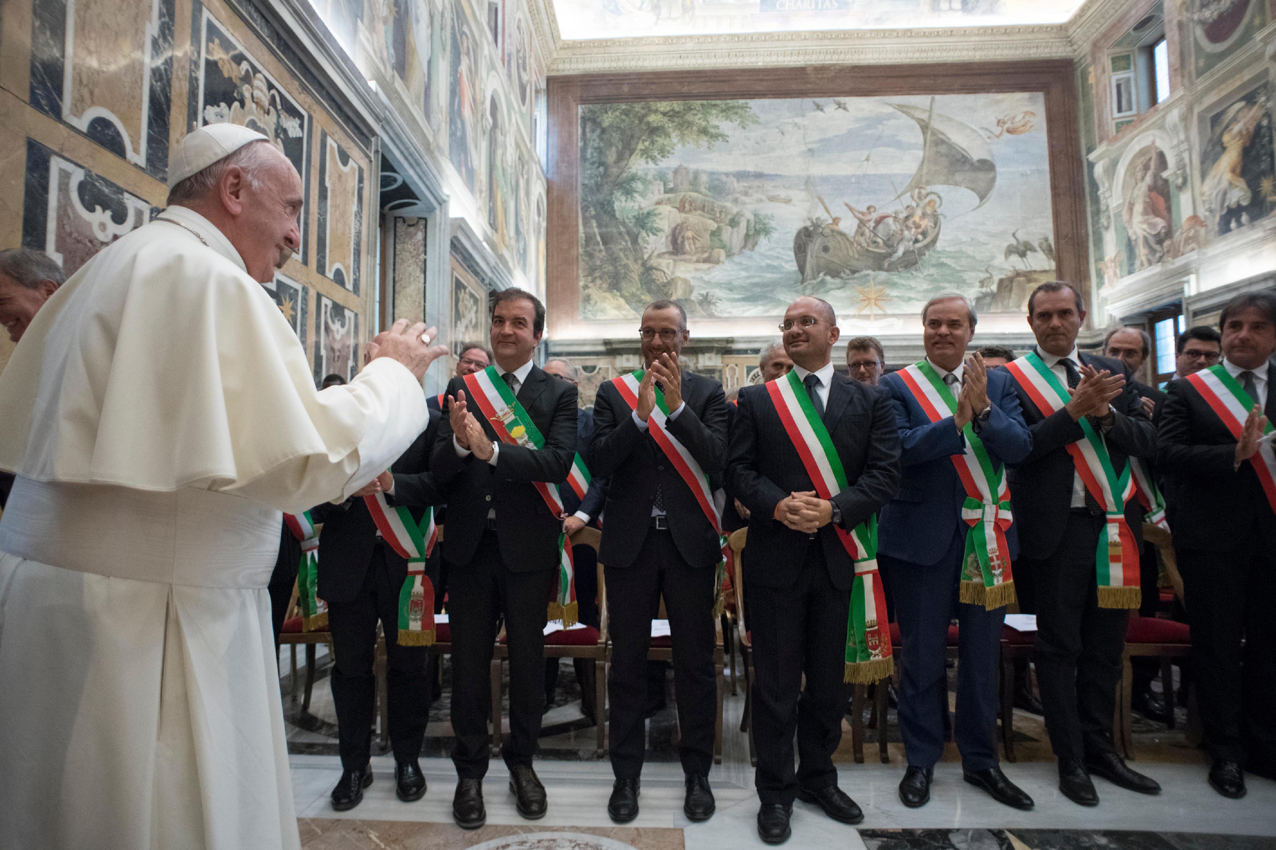 Association des villes italiennes © L'Osservatore Romano