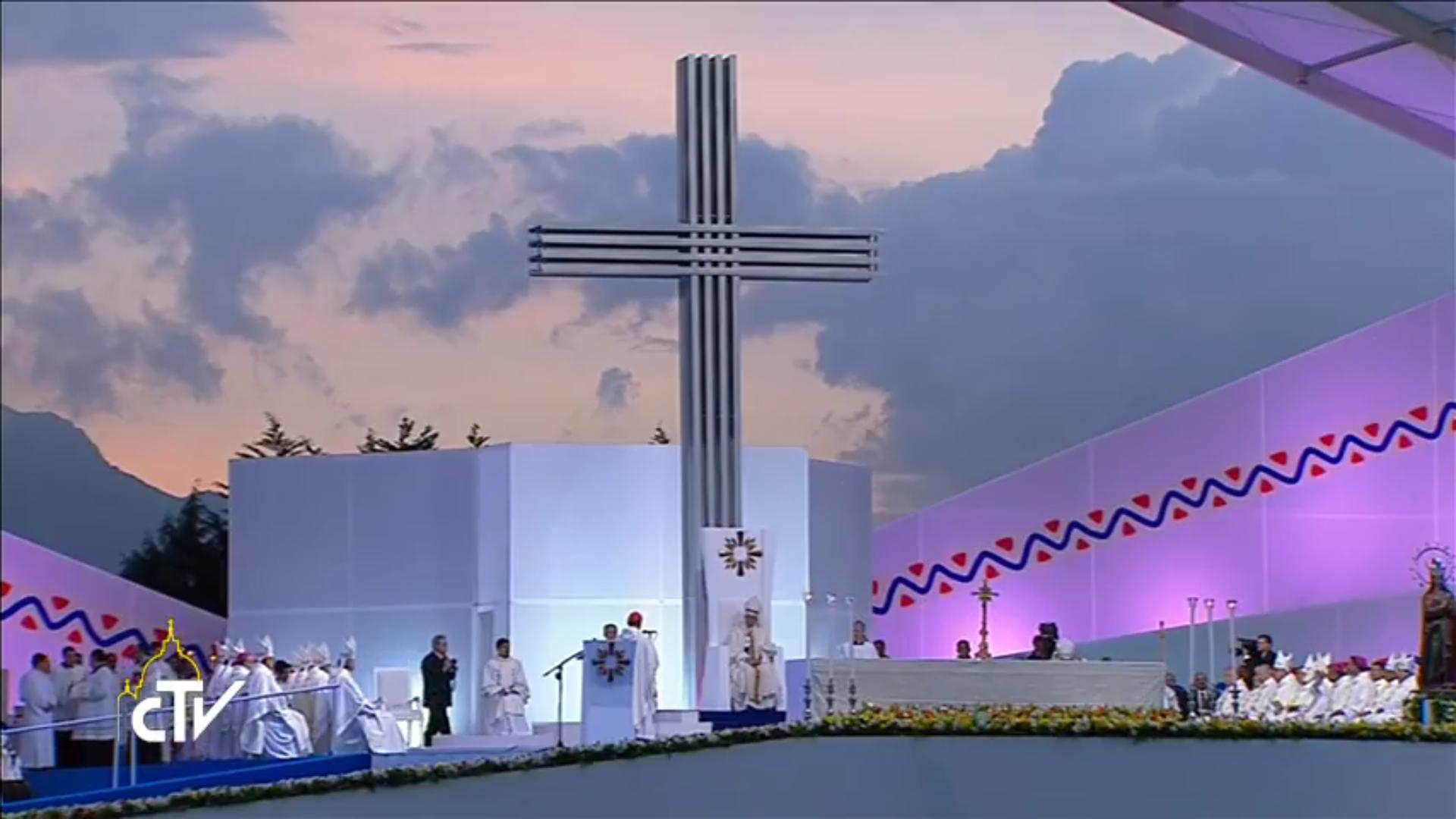 Messe, Bogota, 07/09/2017, CTV
