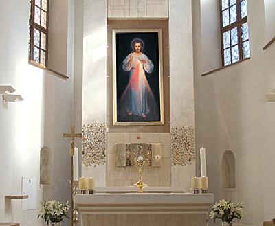 Sanctuaire de Jésus Miséricordieux, Vilnius (Lituanie) @ faustine-message.com