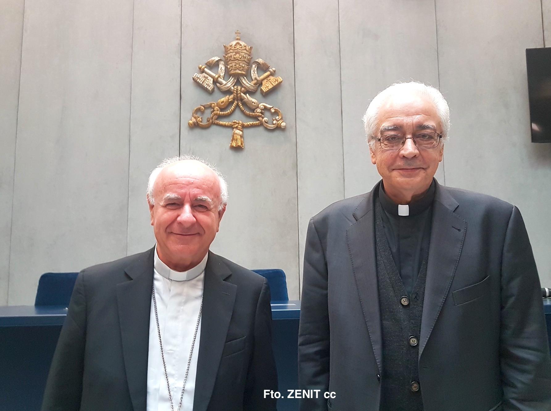 Mons. Vincenzo Paglia e Pierangelo Sequeri Fto ZENITcc
