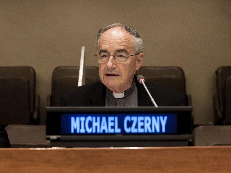 Père Michael Czerny SJ, capture @ migrants-refugees.va